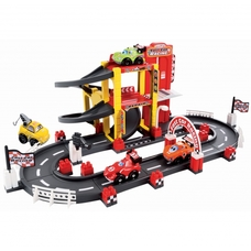 Set Ecoiffier Constructii Abrick Fast Car Racing